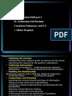 communication  skill part 2 Dr Abdulsalam Saif Ibrahim ( alkhor Hospital)