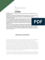 Diagnóstico Comunitario Defensa