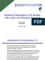 Diaphragms Modeling
