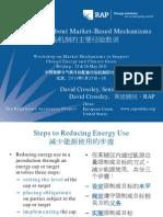 RAP Crossley KeyLessonsMktBasedMechanism ERIMarketMechanismsWorkshop Beijing 2011-05-25