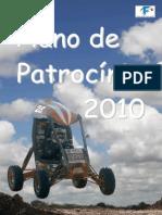 Plano Patrocinio 2010