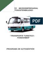 Proyecto Trasporte-Turistico FUNDAHMER