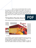 Mário PC - O Saxofone Pop Dos Anos 80