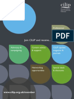 Cilip New Member Application Form 2013
