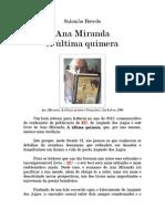 Ana Miranda - A Ultima Quimera