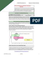 PMP Experience Verification Worksheet