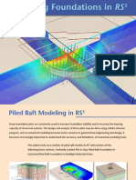 RS3 Pile Raft Modeling