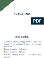 Actuators - Introduction