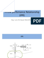 Inflow Perfomance Relationship