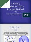 Calidad, Productividad y Competitividad