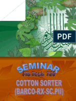 cotton sorter