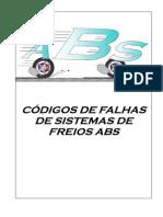 Manual de Códigos de Piscadas de Freios ABS