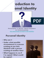 5a) Personal Identity