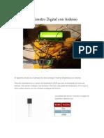 Termómetro Digital Con Arduino