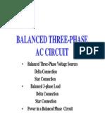 3 Phase Circuits 1