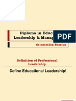 Diploma in Educational Leadership & Management Online