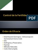 Control de La Fertilidad y Planificacion Familiar ULTIMO
