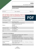 FISPQ Weber Impermeabilizante Camada Fina Quartzolit REV03 VS00