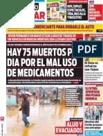 Tapa Diario Popular 03-08-2014