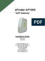 VOICEFINDER AP1005