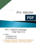 PT3Oral Presentation