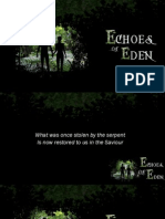 Echoes of Eden 1 - Our Start