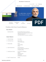 Official Statements _ Prime Minister of India