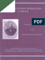 Robledo y Meza, Gabino Barreda Estudio