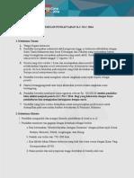 Formulir Pendaftaran ILC-NLC 2014