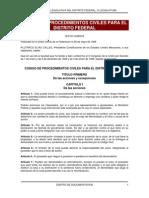 Codigo Proc Civil Df