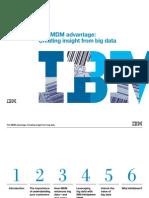 IBM_The MDM Advantage