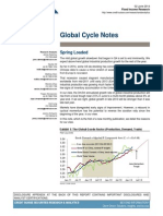 Global Cycle Notes - Fixed Income. Credit Suisse. June 02, 2014