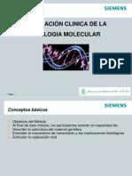 Aplicacion Clinica de Ls Biologia Molecular