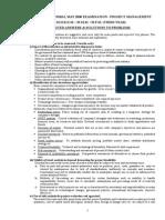 Univ Exam 2000 Solutions