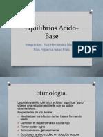 Presentación acido-base