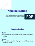 nominalisations(1)