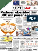 Periódico Norte edición del día 3 de agosto de 2014