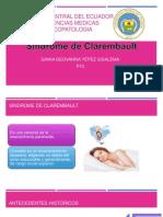 Sindrome de Clerambault YEPEZ GEOVANNA