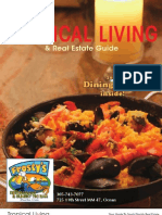 Tropical Living Dining Guide 2008