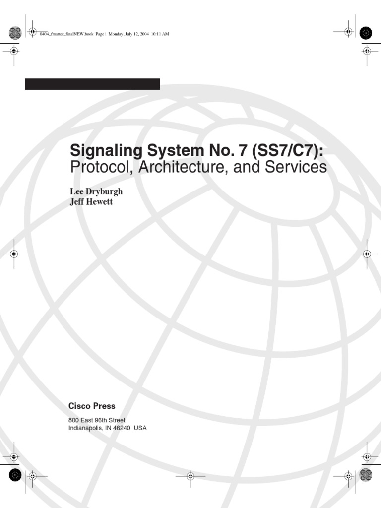 Signaling System No  7 (SS7) (Lee Dryburgh) | Public Switched