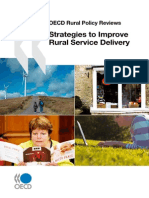 Strategies to Improve Rural Service Delivery