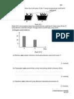 Percubaan UPSR 2014 - Terengganu - Sains - Bahagian B