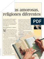 Familias Amorosas-Religiones Diferentes