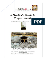 A Muslim's Guide to  Prayer - Salah