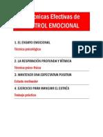 4 Tecnicas de Control Emocional