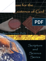 Bert Thompson-The Case for the Existence of God-Apologetics Press (2003)