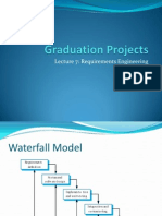 0721499 - Lecture 7 - Requirements Engineering