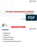 Parameter Standarization Guideline