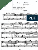 Tchaik Seasons June(Piano)