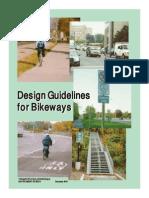 Design Guide for Bike Ways
